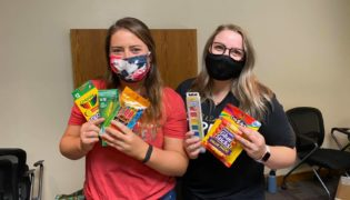 JLT Members are collecting school supply items for donation.